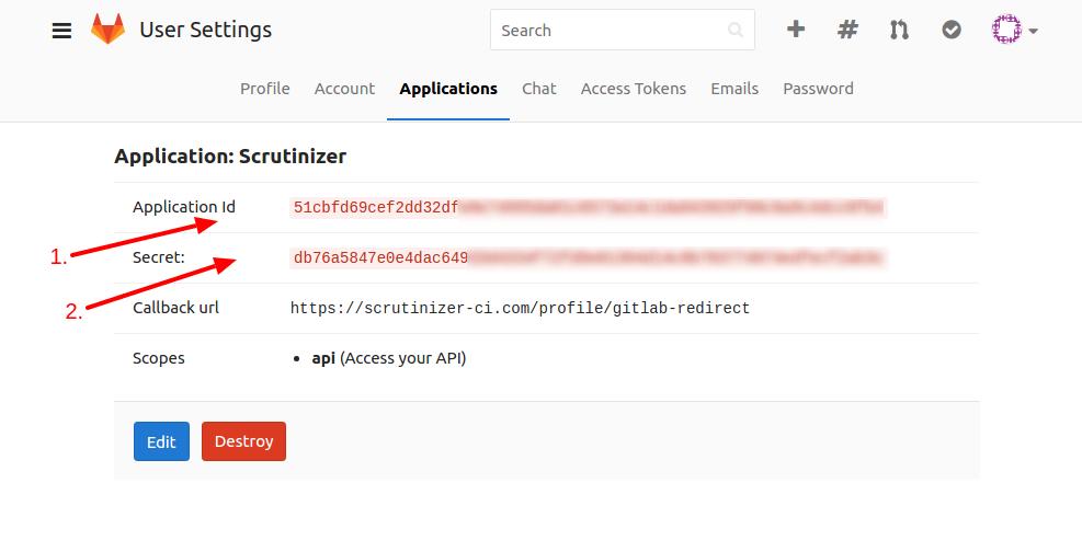 GitLab API Credentials