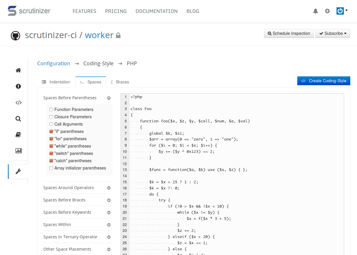 Editing Coding-Style